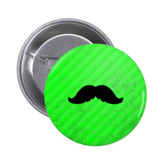 Mexican Mustache 2 Inch Round Button