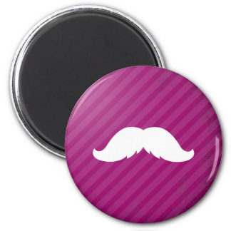 Mexican Mustache 2 Inch Round Magnet