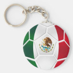 Mexican National football team fans futbol gifts Basic Round Button Keychain