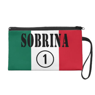 Mexican Nieces : Sobrina Numero Uno Wristlet Clutches