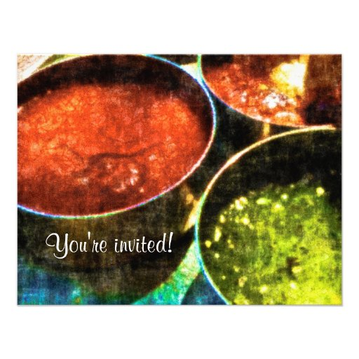 Mexican Night Party Invitation