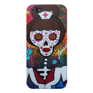 MEXICAN NURSE DAY OF THE DEAD COVER FOR iPhone 5