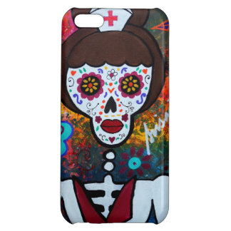MEXICAN NURSE DAY OF THE DEAD iPhone 5C CASE
