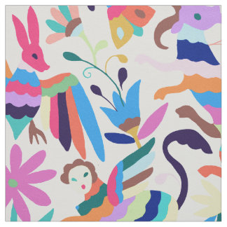 Mexican Otomi-Inspired Fabric