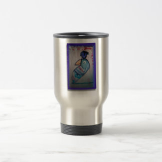 MEXICAN PARROT PAINTING TRAVEL MUG