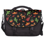 Mexican pattern commuter bags