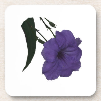 Mexican Petunia cutout flower Beverage Coaster