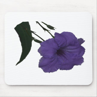 Mexican Petunia cutout flower Mouse Pad