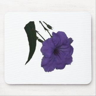 Mexican Petunia cutout flower Mousepads