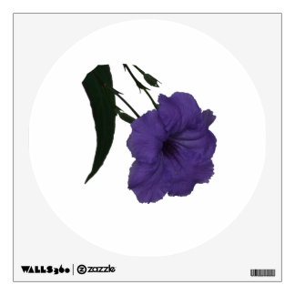 Mexican Petunia cutout flower Wall Decals