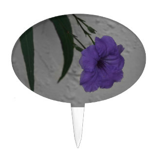 Mexican Petunia  flower Cake Topper