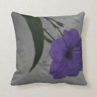 Mexican Petunia  flower Throw Pillow