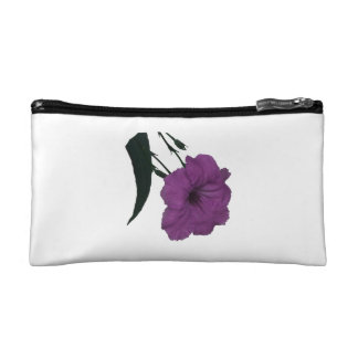 Mexican Petunia pink colorized flower Cosmetic Bags