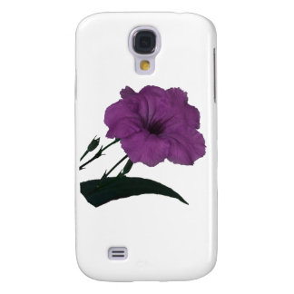 Mexican Petunia pink colorized flower Samsung Galaxy S4 Case