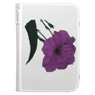 Mexican Petunia pink colorized flower Case For The Kindle