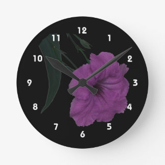 Mexican Petunia pink colorized flower Clocks