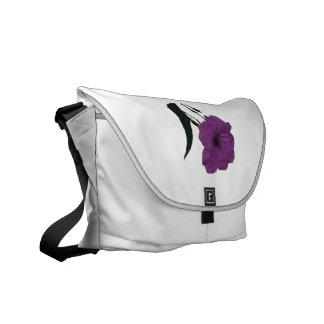 Mexican Petunia pink colorized flower Commuter Bag