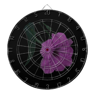 Mexican Petunia pink colorized flower Dartboards