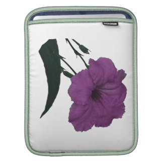 Mexican Petunia pink colorized flower Sleeve For iPads