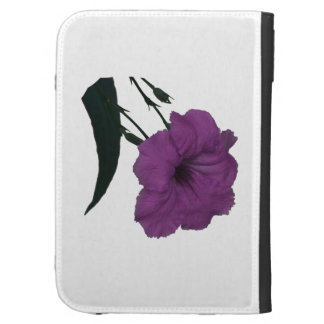 Mexican Petunia pink colorized flower Kindle Case