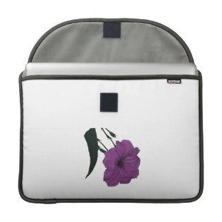 Mexican Petunia pink colorized flower Sleeves For MacBook Pro