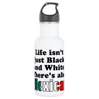 Mexican 18oz Water Bottle