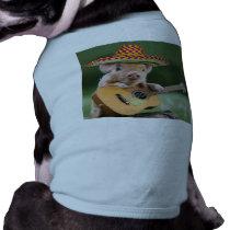 mexican pig - pig guitar - funny pig shirt