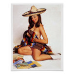 Mexican Pin Up Posters