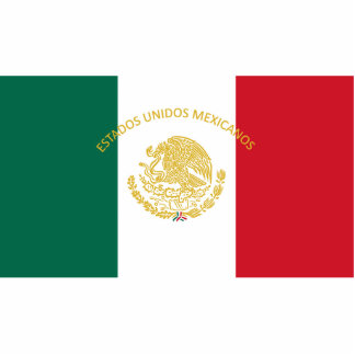 Mexican Presidential, Mexico flag Cut Out