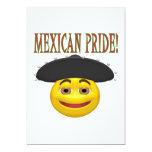 """Mexican Pride 5"""" X 7"""" Invitation Card"""