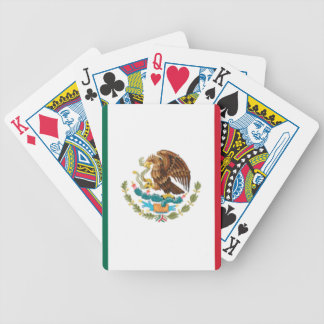 Mexican pride bicycle playing cards