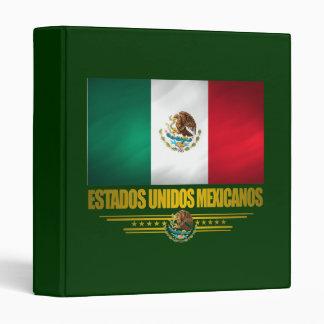 """""""Mexican Pride"""" Binders"""
