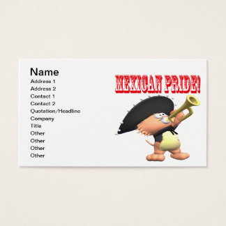 Mexican Pride Business Card