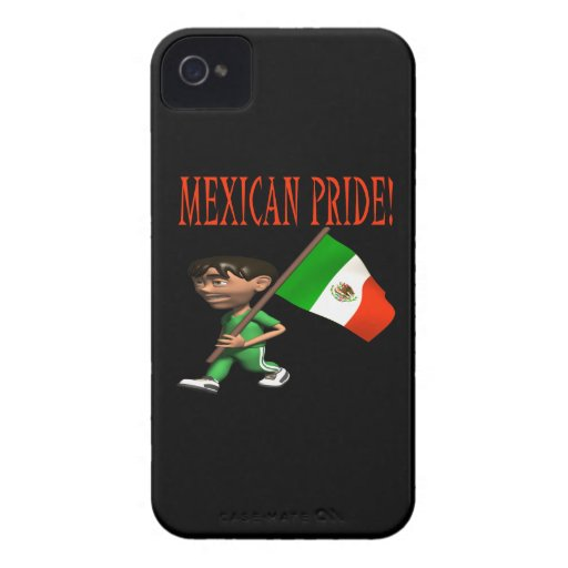 Mexican Pride Case-Mate iPhone 4 Cases