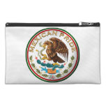 Mexican Pride (Eagle from Mexican Flag) Travel Accessory Bags