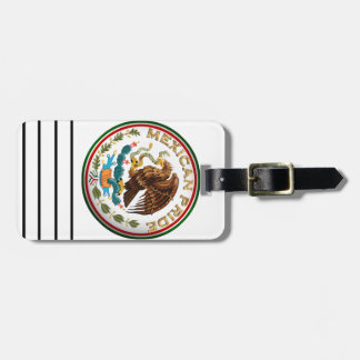 Mexican Pride (Eagle from Mexican Flag) Bag Tags