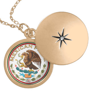 Mexican Pride (Eagle from Mexican Flag) Locket