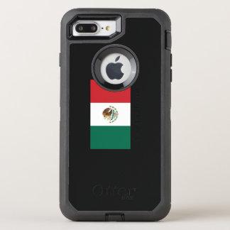 Mexican pride Flag Viva la Mexico OtterBox Defender iPhone 8 Plus/7 Plus Case