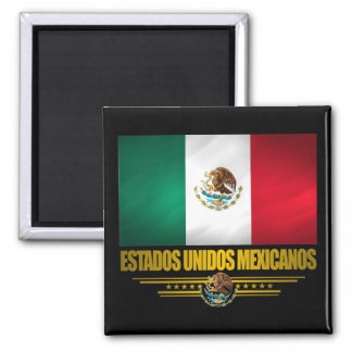 """Mexican Pride"" Gift Ideas 2 Inch Square Magnet"