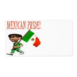 Mexican Pride Label