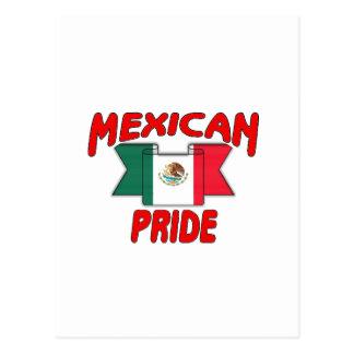 Mexican pride postcard