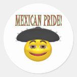 Mexican Pride Round Sticker