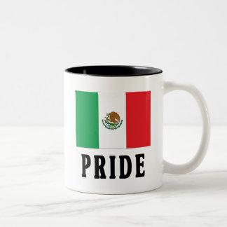 Mexican Pride Two-Tone Coffee Mug