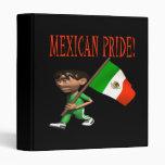 Mexican Pride Vinyl Binders