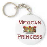 Mexican Princess Keychain