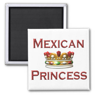 Mexican Princess Magnets