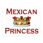 Mexican Princess Postcard