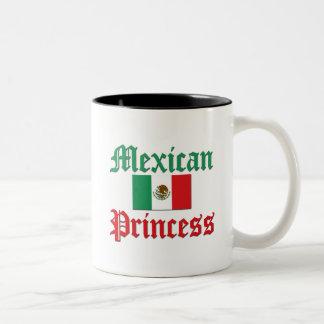 Mexican Princess Two-Tone Coffee Mug