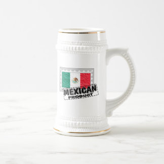 Mexican product beer stein