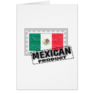 Mexican product card